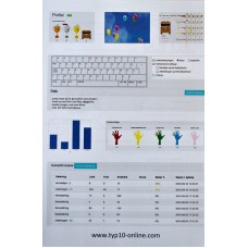 TTO Extra profile with free workbook QWERTY (minimum 5 pieces)