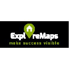 ExploreMaps licentie